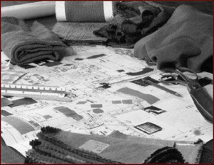 étude des proportions du lieu, recherche des matériaux à utiliser, des techniques à mettre en oeuvre, élaboration du budget,…