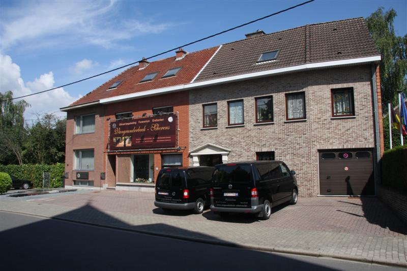 Voorgevel | funerarium Sterrebeek Vangrunderbeek - Scherens