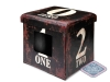 Home collection ottoman one Bruin 38x38x38CM