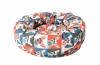 Mand donut billy Gemengde kleuren 43x43x20CM